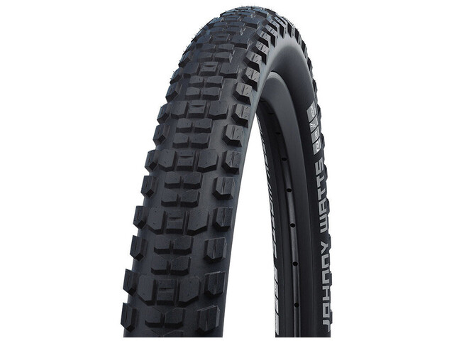 "SCHWALBE Johnny Watts Performance Folding Tyre 27.5x2.80"" DD E-25 Addix Reflex, black"